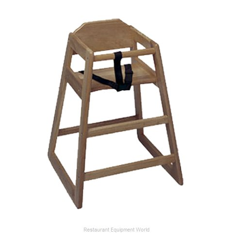 Update International WD-HCWA High Chair, Wood (Magnified)