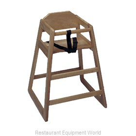 Update International WD-HCWA High Chair, Wood