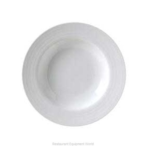 Vertex China CB-3 Vertex China Crystal Bay Embossed Designed Porcelain (Magnified)