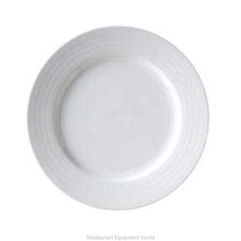 Vertex China CB-6 Vertex China Crystal Bay Embossed Designed Porcelain (Magnified)