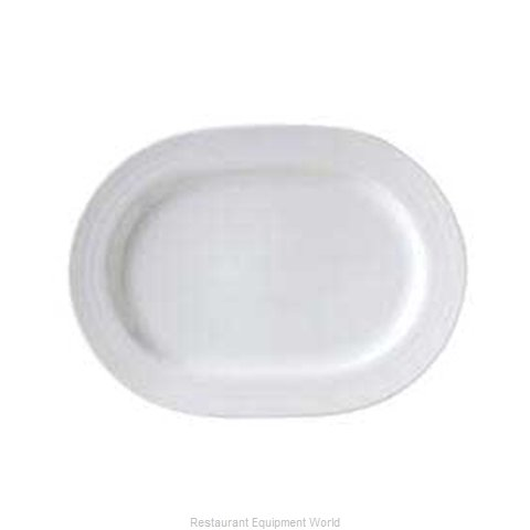 Vertex China CB-94 Vertex China Crystal Bay Embossed Designed Porcelai (Magnified)