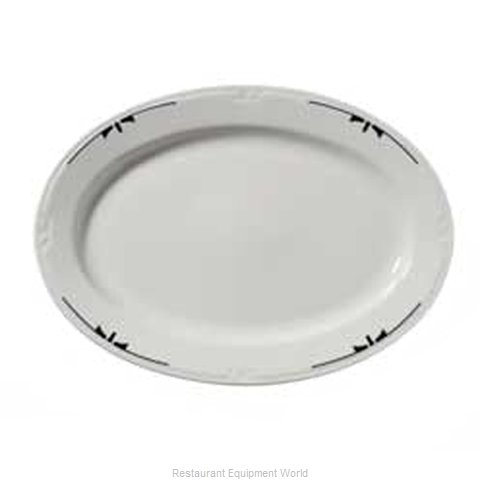 Vertex China KF-93-TX-BK China Platter