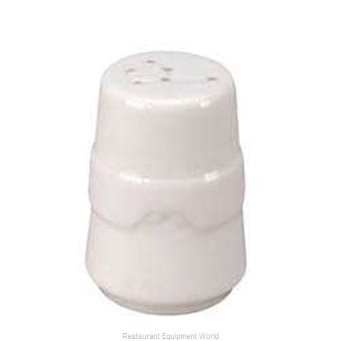 Vertex China KF-PS-TX-BK China Salt Pepper Shaker