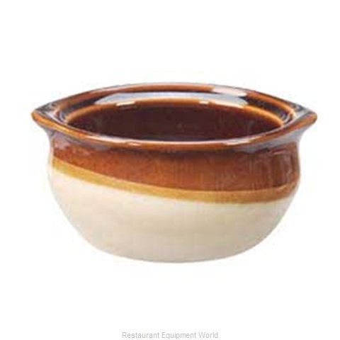 Vertex China OSC-10-CB Soup Bowl Crock, Onion
