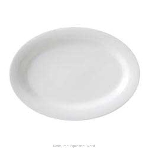 Vertex China RB-14-L-SG China Platter (Magnified)