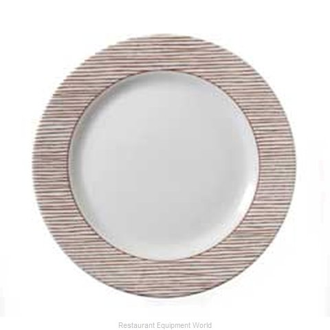 Vertex China RB-16-L-TC China Plate (Magnified)