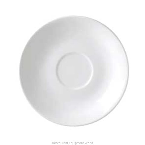 Vertex China RB-2-L-FG China Saucer (Magnified)
