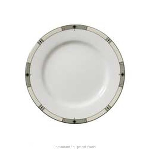Vertex China RB-6-WBD China Plate (Magnified)