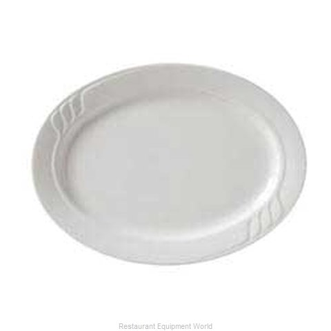 Vertex China SAU-12-W-B China Platter