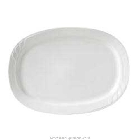 Vertex China SAU-14-W-B China Platter