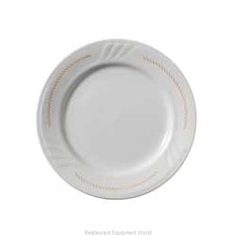 Vertex China SAU-6-BR-SG China Plate (Magnified)