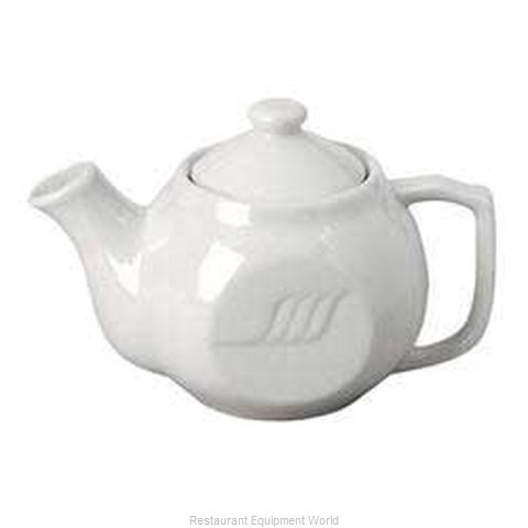Vertex China SAU-TP-W-G China Coffee Pot Teapot