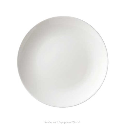 Vertex China SK-16-TX-BK China Plate (Magnified)
