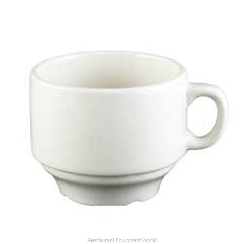 Vertex China SK-35-W-Y China Demitasse Cup (Magnified)