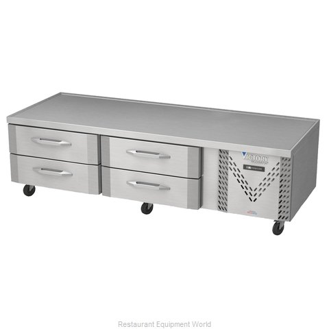 Victory CBF84-1 Freezer Counter, Griddle Stand