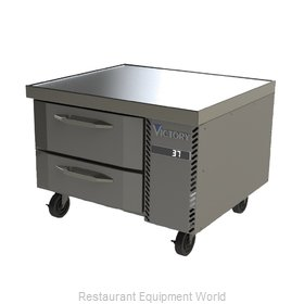 Victory CBR48-1 Equipment Stand, Refrigerated Base