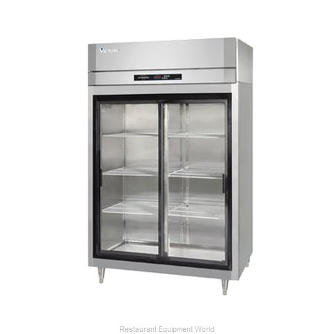 Victory DRA-2D-S1-LD Reach-in Display Refrigerator 2 sections