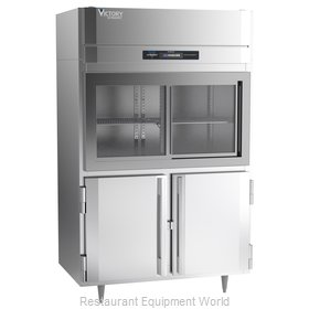 Victory DRS-2D-S1-HD-HC Refrigerator, Reach-In