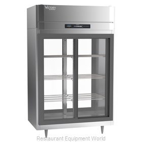 Victory DRS-2D-S1-PT-LD-HC Refrigerator, Pass-Thru