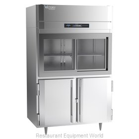 Victory DRSA-2D-S1-HD-HC Refrigerator, Reach-In