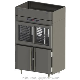 Victory DRSA-2D-S1-PT-HD Refrigerator, Pass-Thru