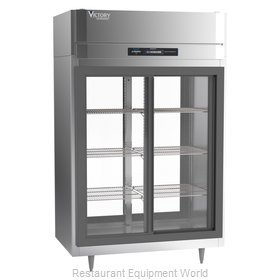 Victory DRSA-2D-S1-PT-LD-HC Refrigerator, Pass-Thru