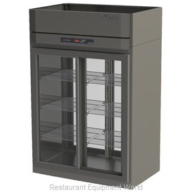 Victory DRSA-2D-S1-PT-LD Pass-Thru Display Refrigerator 2 sections