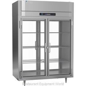 Victory FS-2D-S1-EW-PT-GD-HC Freezer, Pass-Thru