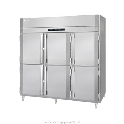 Victory FSA-3D-S1-EWPTHD Pass-Thru Freezer 3 sections