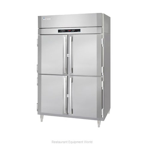Victory HA-2D-1-HD Reach-In Heated Cabinet 2 section