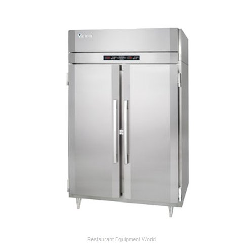 Victory HRS-2D-S1-EW Refrigerated Heated Cabinet Dual Temp