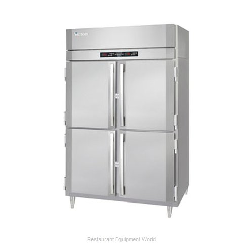 Victory HRS-2D-S1-EWPTHD Pass-Thru Dual Temp Cabinet 2 (Magnified)