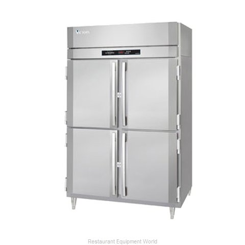 Victory HS-2D-1-EW-PT-HD Pass-Thru Heated Cabinet 2 section