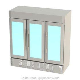 Victory LSF72G-5 Freezer, Merchandiser