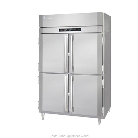 Victory RFA-2D-S1-HD Reach-In Dual Temp Cabinet self-contained