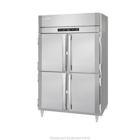 Victory RFS-2D-S1-EW-HD Reach-In Dual Temp Cabinet self-contained