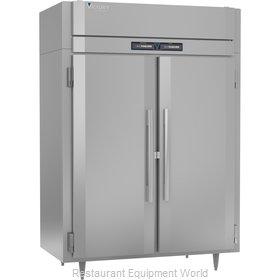 Victory RFS-2D-S1-EW-PT-HC Refrigerator Freezer, Pass-Thru