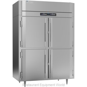 Victory RFS-2D-S1-EW-PT-HD-HC Refrigerator Freezer, Pass-Thru