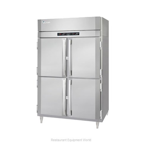 Victory RFS-2D-S1-HD Reach-In Dual Temp Cabinet self-contained