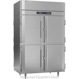 Victory RFS-2D-S1-PT-HD-HC Refrigerator Freezer, Pass-Thru