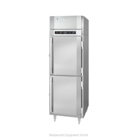 Victory RFSA-1D-S1-HD Reach-In Dual Temp Cabinet self-contained