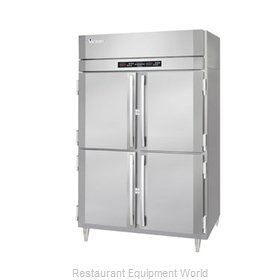 Victory RFSA-2D-S1-EW-PT-HD Refrigerator Freezer, Pass-Thru