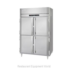 Victory RFSA-2D-S1-PT-HD Refrigerator Freezer, Pass-Thru