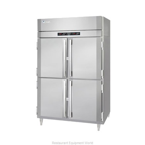 Victory RS-2D-S1-EW-PTHD Pass-Thru Refrigerator 2 sections