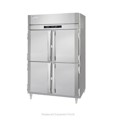 Victory RS-2D-S1-PT-HD Pass-Thru Refrigerator 2 sections