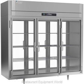 Victory RS-3D-S1-EW-PT-GD-HC Refrigerator, Pass-Thru