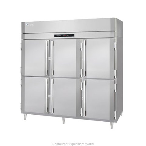 Victory RS-3D-S1-EW-PTHD Pass-Thru Refrigerator 3 sections