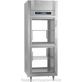 Victory RSA-1D-S1-EWPTHDGDHC Refrigerator, Pass-Thru