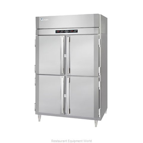 Victory RSA-2D-S1-EWPTHD Pass-Thru Refrigerator 2 sections (Magnified)