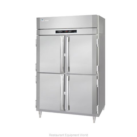 Victory RSA-2D-S1-PT-HD Pass-Thru Refrigerator 2 sections (Magnified)